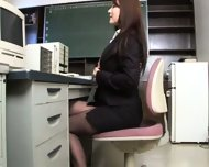 Busty Asian Secretary - scene 3