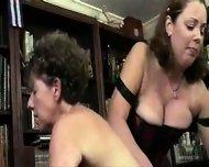Chubby mature group spanking - scene 11