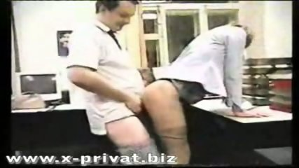 russian secretary fucked in office - scene 4