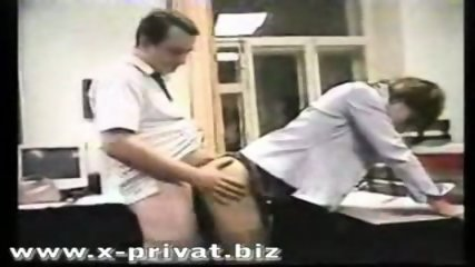 russian secretary fucked in office - scene 5