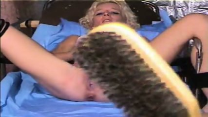 Pussy clamped blonde - scene 11