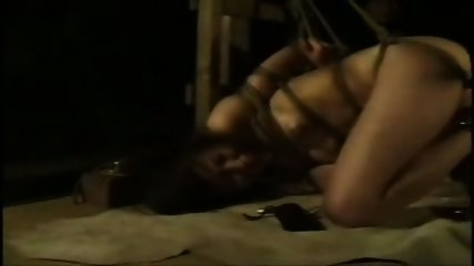 Bound and Suspended Asian - scene 9