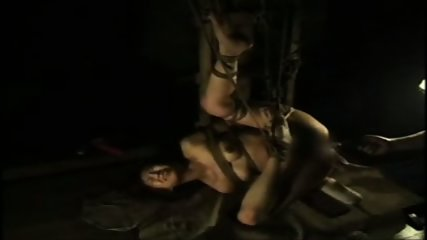 Bound and Suspended Asian - scene 11