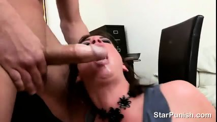 Busty secretary Tory Lane gives negative evaluation and gets fucked rough in her office