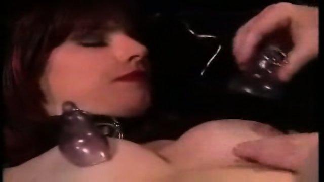 Spank and masturbate