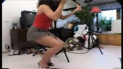 Lena and the model - scene 3