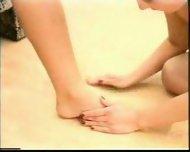 Lesbian Footworship - scene 10