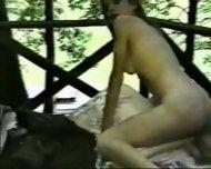 Amateur - Blond Laura & her Black friend Lyman - scene 9