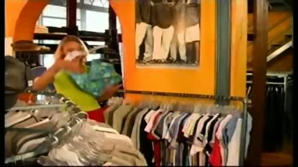 Hot Euro Chick Fucked in a Shop - scene 1