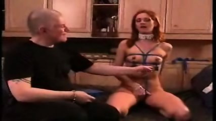 Sexy redhead taught a lesson - scene 11