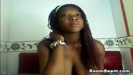 Lactating Ebony Cam Slut