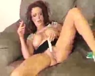 smoking milf toys - scene 12