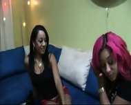 Ebony Strapon Action - scene 1
