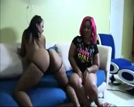 Ebony Strapon Action - scene 2