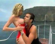 Brainna Banks sex on boat - scene 1