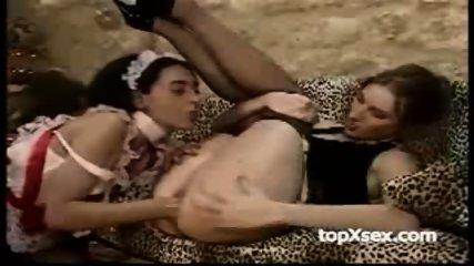Lesbian maid fucks her female boss -part1- - scene 12