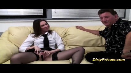 French Teen First Anal Casting Lesson - scene 2