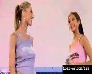 Teen Amateur Lesbians Oil Orgy - Hot! Part 1 - scene 8