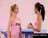 Teen Amateur Lesbians Oil Orgy - Hot! Part 1 - scene 10