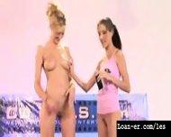 Teen Amateur Lesbians Oil Orgy - Hot! Part 1 - scene 2
