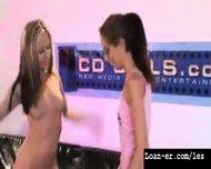 Teen Amateur Lesbians Oil Orgy - Hot! Part 1 - scene 3