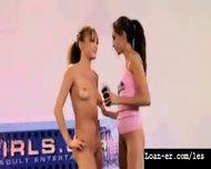 Teen Amateur Lesbians Oil Orgy - Hot! Part 1 - scene 4