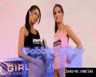 Teen Amateur Lesbians Oil Orgy - Hot! Part 1 - scene 5