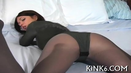 Appetising ass in nice tights