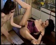 Verry hot lesbians fistfucking - scene 6
