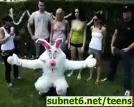 Easter Bunny Sex during Egg Hunt - scene 3