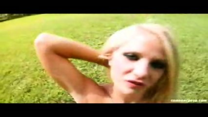 Masterbation on the Grass! - scene 7