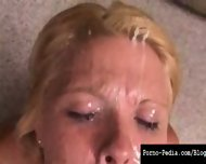 Faith takes loads of cum and masturbates hot - scene 9