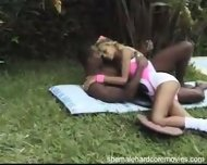 Shemale in Aerobics Outfit - scene 1