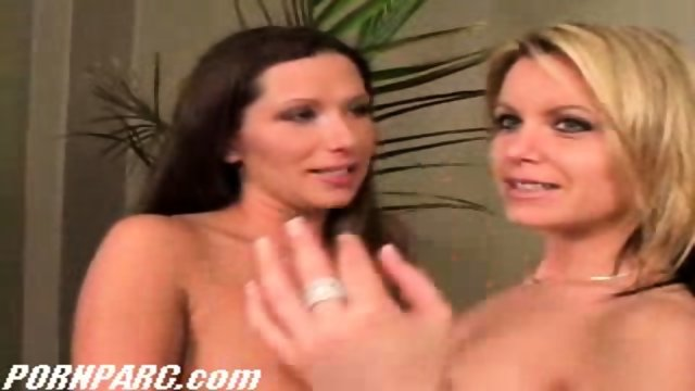 Two hot lesbians sex with toys 1