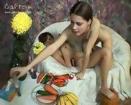 Galitsin 162 - Alexa & Masha lesbian teens - scene 8