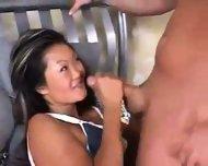 asian deepthroat part 1 - scene 2