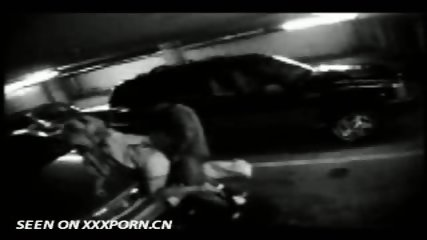 Couple caught on Parkinglot Cam - scene 6