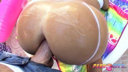 PervCity Krissy Lynn S Perfect Big Ass Gets Fucked Hard - scene 4