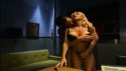 Briana Banks Police Sex Black Bra & Panties pu - scene 1
