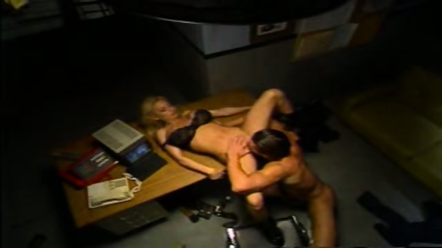 Briana Banks Police Sex Black Bra & Panties pu