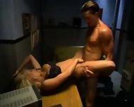Briana Banks Police Sex Black Bra & Panties pu - scene 7