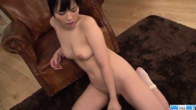 Mimi kousaka with specs licks hard penis - 3 8