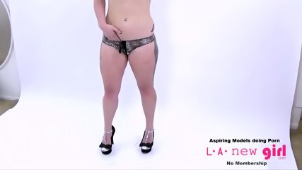 CUTE BLONDE IS FUCKED AT PHOTOSHOOT AUDITION - scene 8