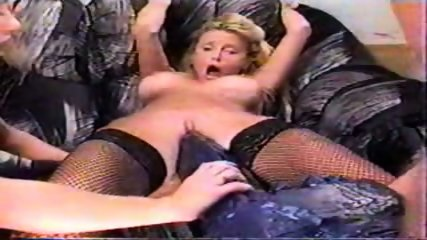 girl doing big blue dildo - scene 12