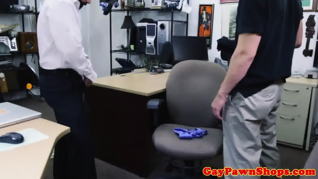 Bearded pawnshop amateur cockridden for cash - scene 12