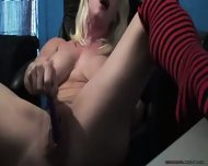 Mature Blonde Squirts - scene 9