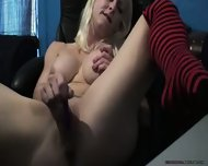 Mature Blonde Squirts - scene 4