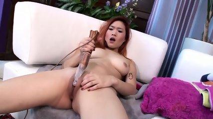 Asian Girl Masturbates - scene 7