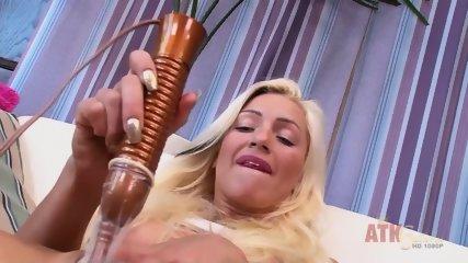 Blonde And Her Pussy Stimulator - scene 10