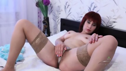 Hairy Mommy With Stockings - scene 7